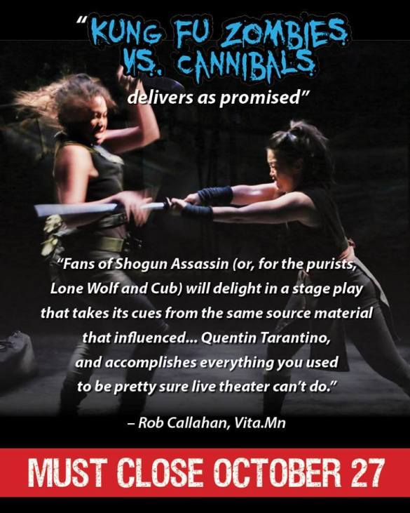 Review: Kung Fu Zombies vs  Cannibals is a play Lao