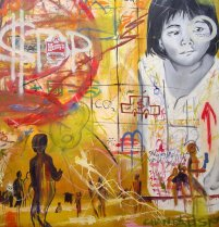 99 Cent Menu, 2005 (Chantala Kommanivanh)