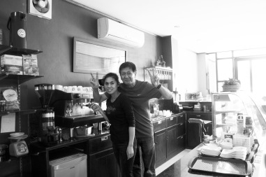 Owner of Take it Easy Cafe
