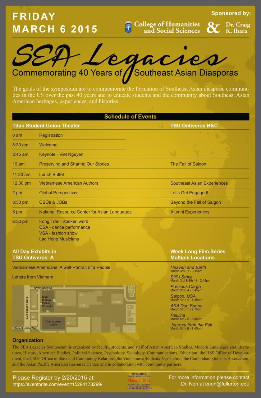 SEA Symposium at California State University - Fullerton
