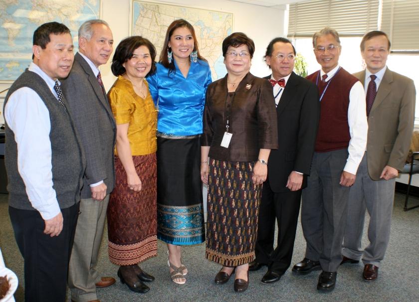 VOA-Lao staff, 2012